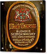 Scotch Whisky Acrylic Print