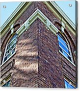 Scott County Courthouse Corner Detail Acrylic Print