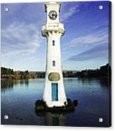 Scott Memorial Lighthouse 2 Acrylic Print