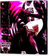 Scottie Pippen Acrylic Print