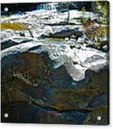 Screw Auger Falls Top 2 Acrylic Print