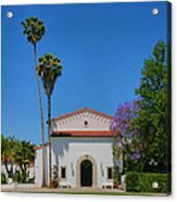 Scripps College Grounds Acrylic Print