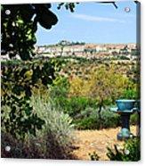Sculpture Garden In Sicily 2 Acrylic Print