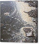 Sea Foam And Algae Acrylic Print
