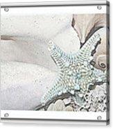 Sea Foam In Pastels Acrylic Print