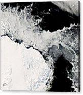 Sea Ice In The Southern Ocean Acrylic Print