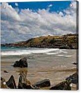Sea Landscape With Bay Beach Acrylic Print