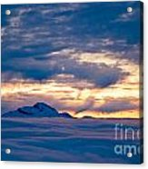 Sea Of Clouds Acrylic Print
