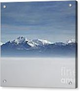 Sea Of Fog Acrylic Print