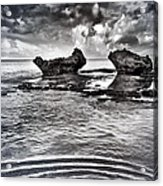 Sea Ripples Acrylic Print
