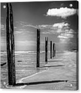Sea Sand And Steel Acrylic Print