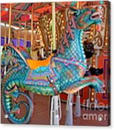 Sea Serpent Carousel Ride Acrylic Print
