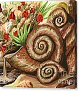 Sea Shells Of Life Acrylic Print