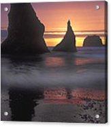 Sea Stacks Off The Oregon Coast Acrylic Print