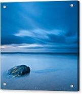 Sea With Blue Sky Acrylic Print