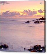Seafield Sunset Acrylic Print