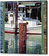 Seagull Triptych Acrylic Print