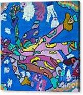 Sealife In Color Acrylic Print