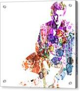 Sean Penn Acrylic Print