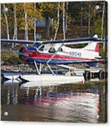 Seaplane On Moosehead Lake In Maine Canvas Photo Poster Print Acrylic Print