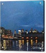 Seaport Boulevard Acrylic Print