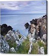 Seascape From Coast Of Clogherhead Acrylic Print