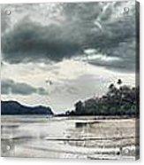 Seascape Panorama Acrylic Print