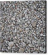 Seashore Rocks Acrylic Print