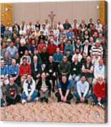 Seattle Archdiocese 2008 Priests. Acrylic Print