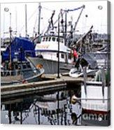 Seattle Fishermans Terminal Acrylic Print