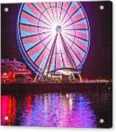 Seattle Great Wheel 2 Acrylic Print