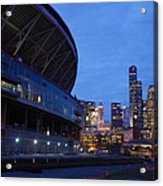 Seattle Sky At Dusk Acrylic Print