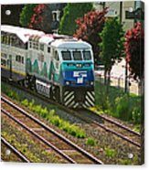 Seattle Sounder Train Acrylic Print