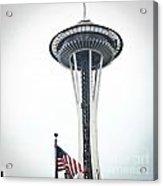 Seattle Strikes Acrylic Print