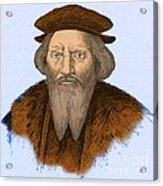 Sebastian Cabot, Italian Explorer Acrylic Print