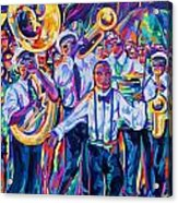 Second Line Acrylic Print