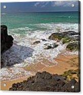 Secret Beach Kauai Acrylic Print