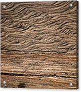 Sedimentary Structures In Sand Beds Acrylic Print