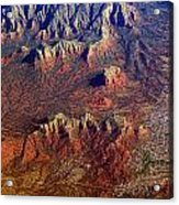 Sedona Arizona Planet Earth Acrylic Print