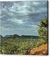 Sedona From The Top Of Jordan Trail Acrylic Print