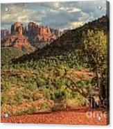 Sedona Red Rock Viewpoint Acrylic Print