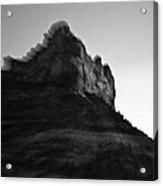 Sedona Rock Zoom Acrylic Print