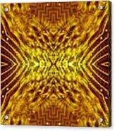 Seeding Mandala Acrylic Print