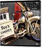 See's Motocycle Acrylic Print