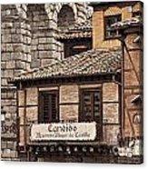 Segovia Spain Acrylic Print