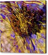 Seize The Day - Abstract Art Acrylic Print