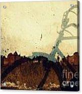 Self Introspection Acrylic Print by Vishakha Bhagat