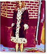 Self Paintlet 1975 Acrylic Print