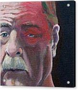 Self Portrait With Shingles Acrylic Print