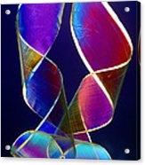 Sellotape, Light Micrograph Acrylic Print